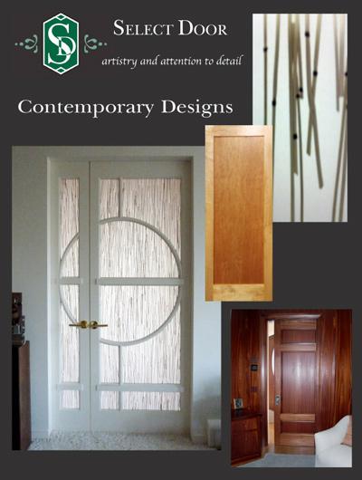 Standard Door Programs & Custom Interior Doors | Contemporary Designs | Select Door | A ... Pezcame.Com
