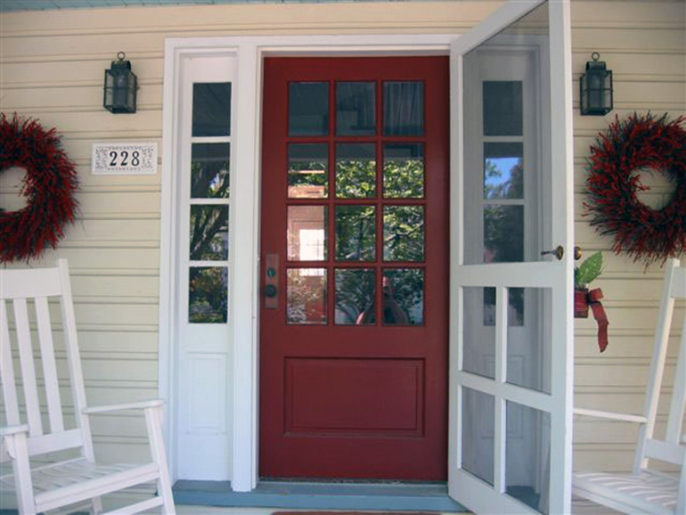 Custom Exterior Doors | Screen / Storm Doors & Enclosures | Select ...