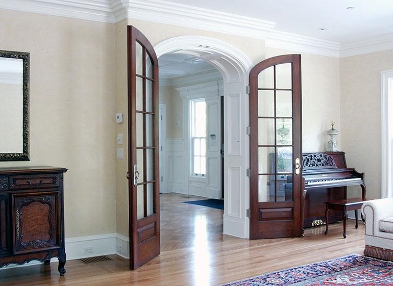 Custom Interior Doors Paneled Jambsets Select Door A Modern